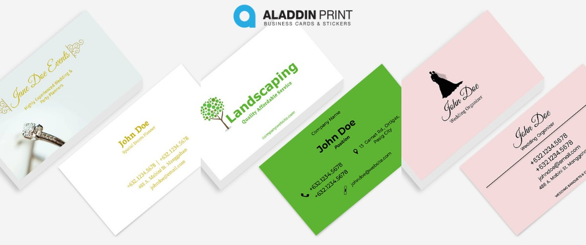 Aladdin Print Standard Business Card