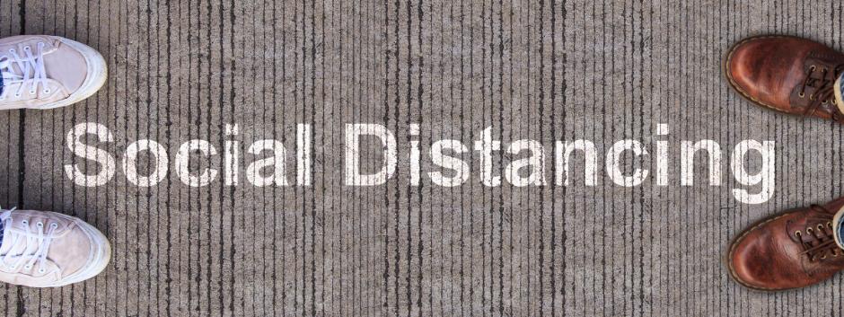 Social Distancing Sticker Aladdin Print