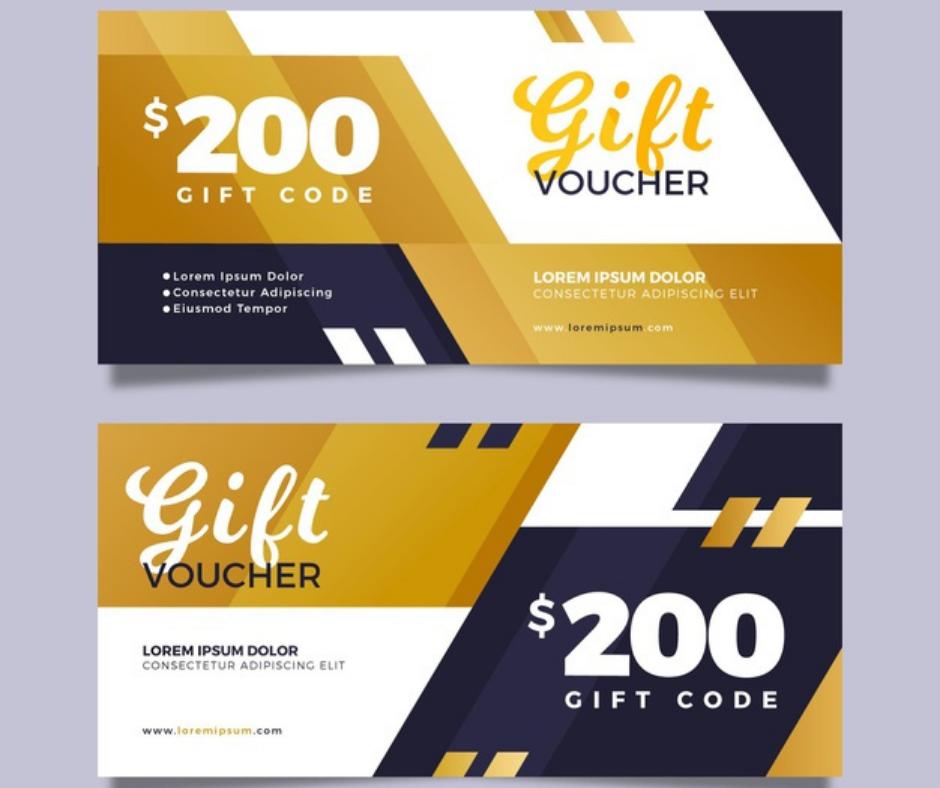 discount code coupon, business card, aladdin print